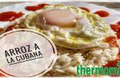 Arroz a la cubana en Thermomix