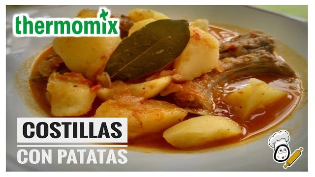 Costillas con patatas en thermomix