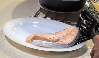 Thermomix hacer salmón receta