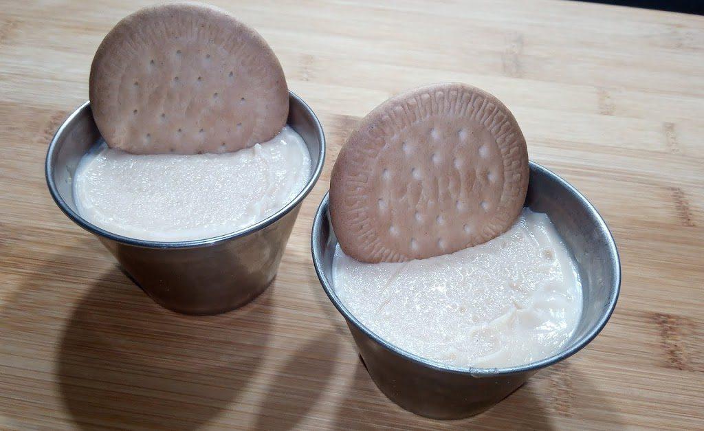 Natillas de galletas caseras