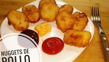 Nuggets de pollo caseros hechos con Thermomix
