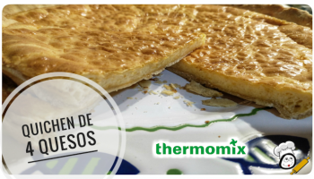 Quichen 4 quesos en Thermomix tm5