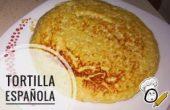 Tortilla de patatas Española.