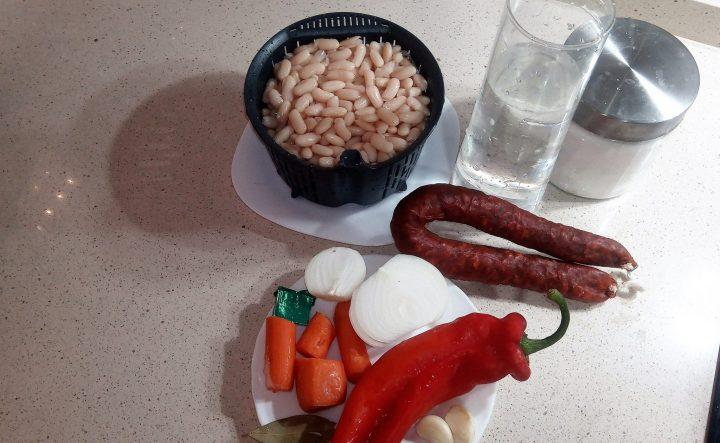 ingredientes alubias blancas