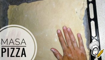 receta de masa pizza Thermomix