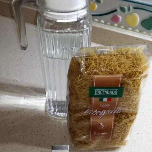 Ingredientes para hacer sopas integrales