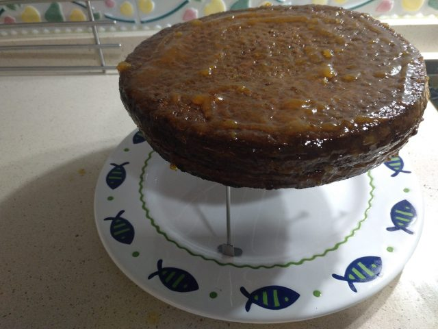 Tarta sacher de Thermomix