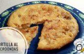 Tortilla patatas hecha al microondas