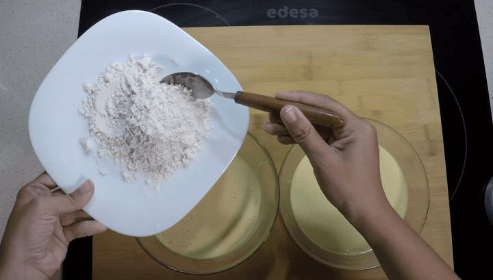Harina reservada para bizcocho