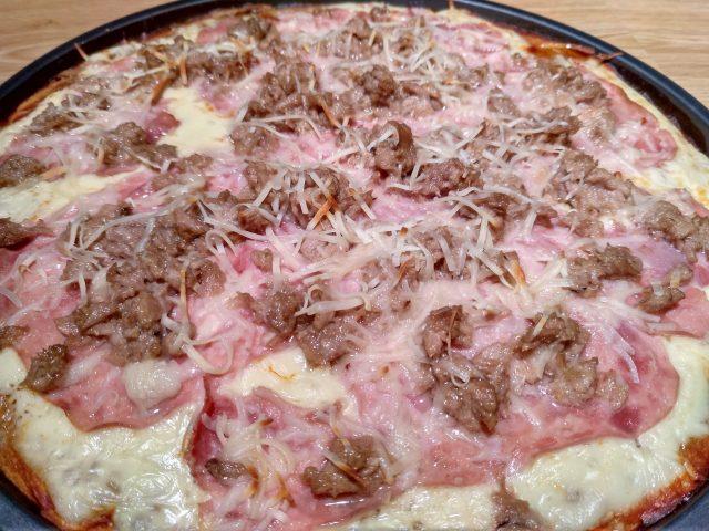 Masa de Pizza integral en Thermomix.