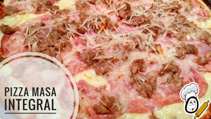 Masa de pizza integral en Thermomix
