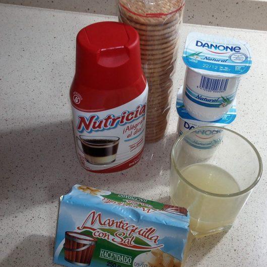 Ingredientes para hacer mousse de limón con la Thermomix.