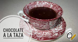 Cómo hacer Chocolate a la taza en Thermomix