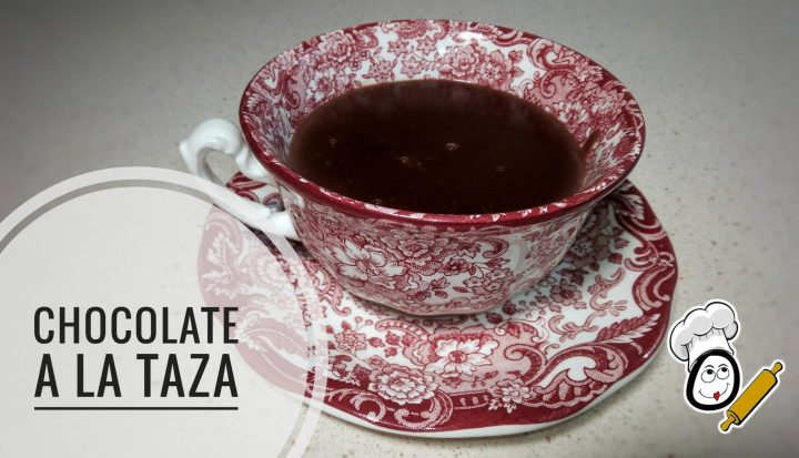 Chocolate a la taza en Thermomix