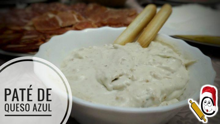 Paté de queso azul y nueces en Thermomix