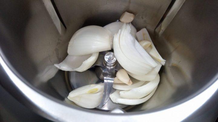 Picar cebolla en la Thermomix tm5