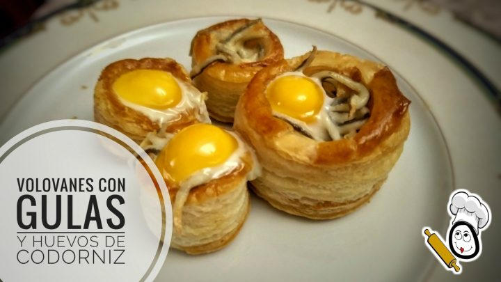 Volovanes Con Gulas Y Huevos De Codorniz Caseros