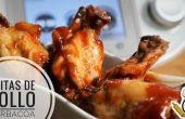 Alitas de pollo con barbacoa en Thermomix