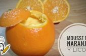 Mousse de naranja en Thermomix tm5
