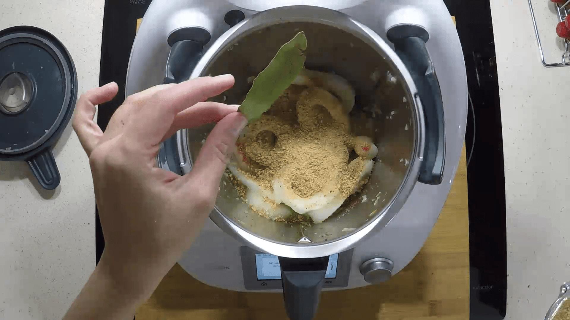Calamares en salsa en la Thermomix
