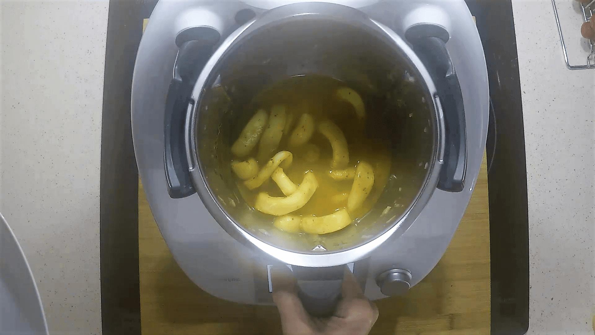 Anillas de calamar en Thermomix