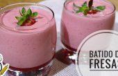Batidos de fresas en Thermomix