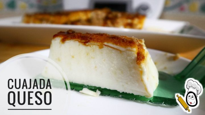Cuajada de queso en Thermomix tm5