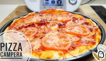 Pizza campera para hacer con Thermomix