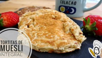tortitas integrales sanas thermomix