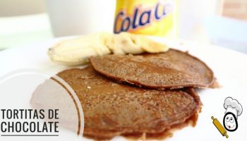 Tortitas de chocolate en Thermomix