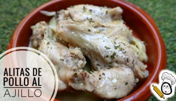 Alitas de Pollo al ajillo en Mambo Cecotec