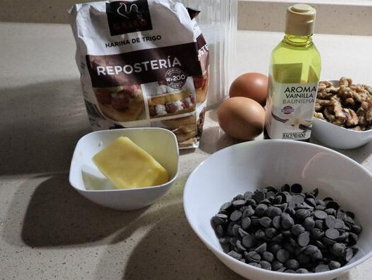 Ingredientes brownie Thermomix
