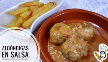 Hacer albóndigas en salsa con Mambo