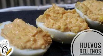 Hacer huevos rellenos con Mambo