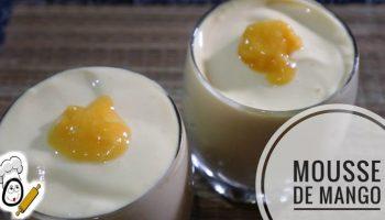 ¿Cómo hacer mousse de mango en Mambo?