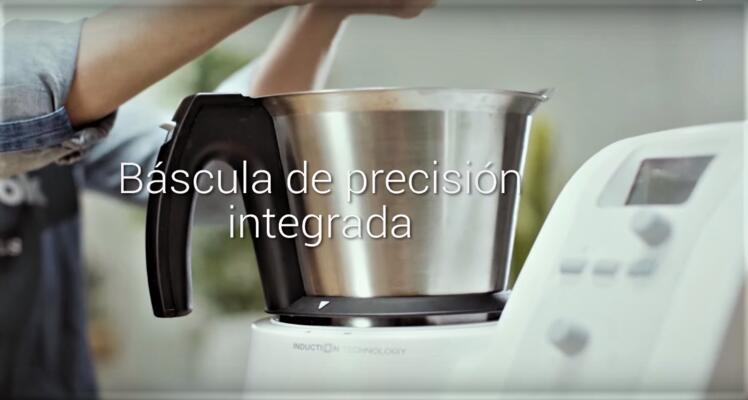 Bascula integrada de gran precisión en Mycook One