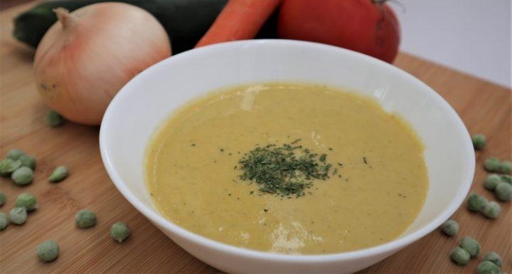 ¿Cómo hacer puré de verduras en Mambo?