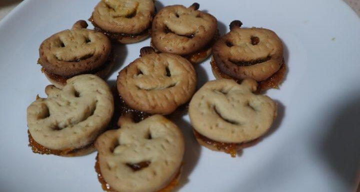 Cómo rellenar galletas de calabaza