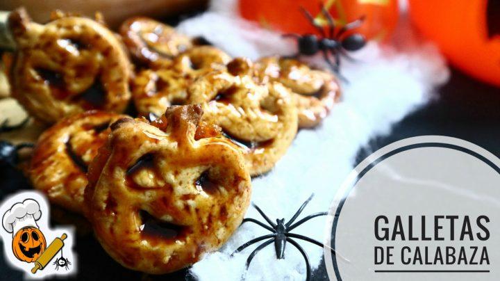 Cómo hacer galletas de calabaza para halloween en Thermomix