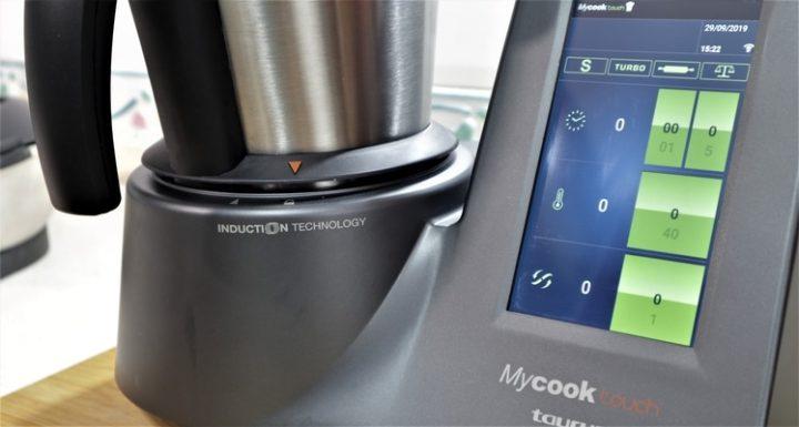 Función de cocción por inducción de la Mycook