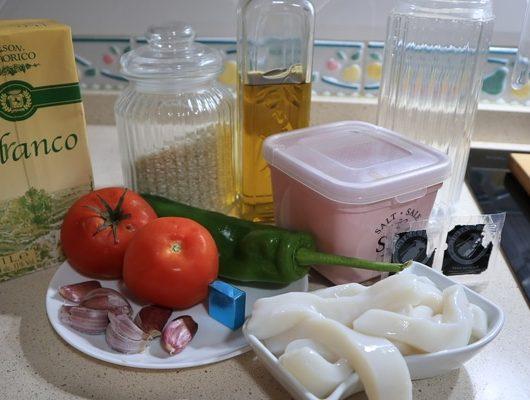 Qué ingredientes necesito para hacer el arroz negro?