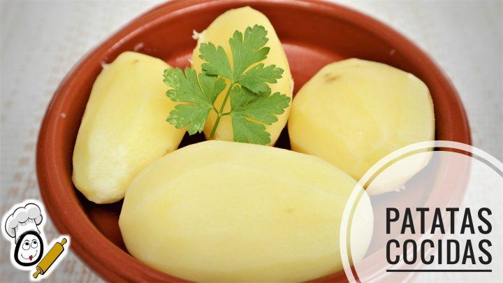Preparar patatas cocidas en Mycook