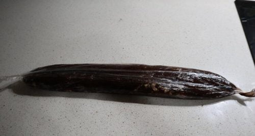 Chorizo de chcocolate