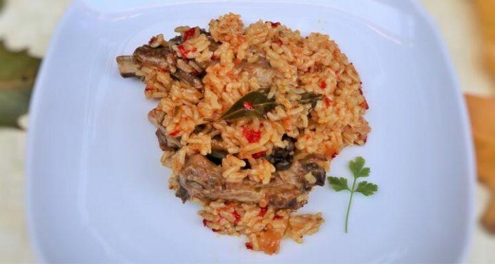 Preparar costilla con arroz