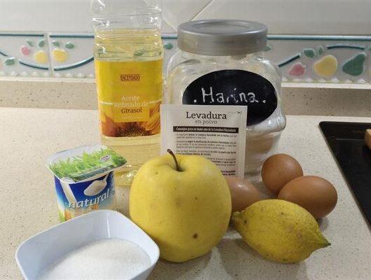 Ingredientes para hacer bizcocho manzana al varoma Mambo