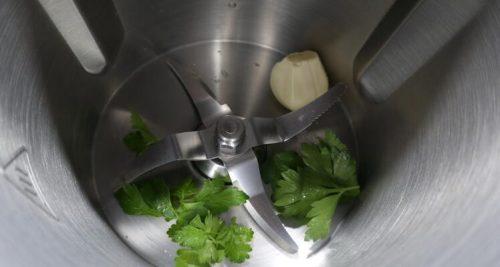 Hacer una picada para la quinoa con verduras