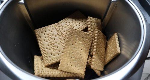Galletas para hacer el salchichón de chocolate