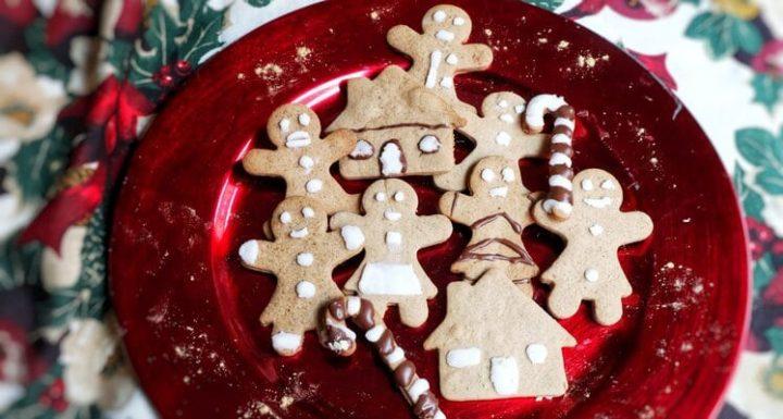 Hacer con Thermomix Galletas de jengibre para navidad con niños