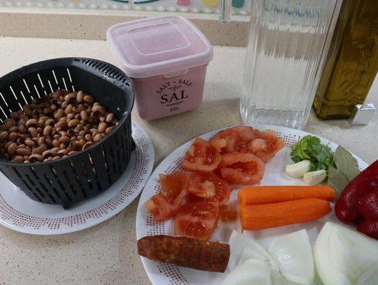 Ingredientes para hacer carillas en Thermomix