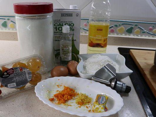 Ingredientes para hacer el roscón de Reyes con Mambo